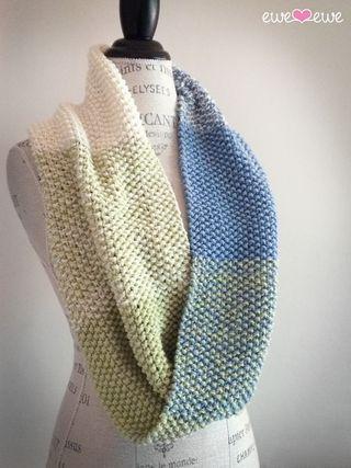Free Knitting Pattern: Manos Camote Pocket Scarf (NobleKnits ...