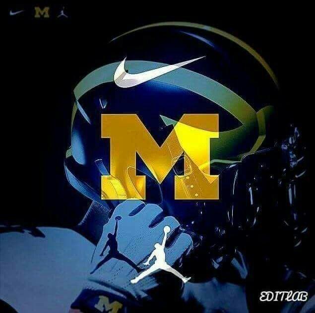Go Blue Michigan Wolverines Football Michigan Wolverines Basketball Michigan Go Blue