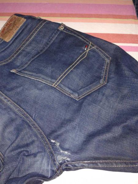 Tutorial - Jeans im Schritt reparieren   Jeans flicken