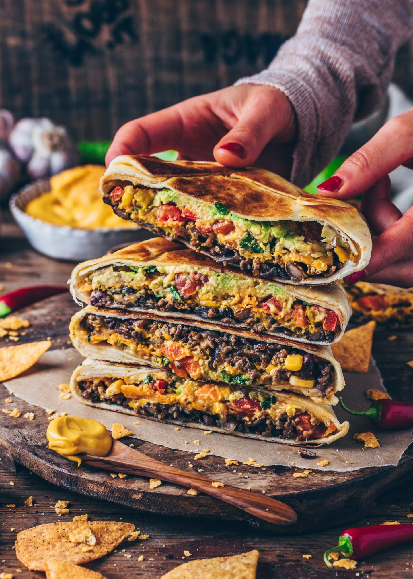"Photo of Burrito Wraps XXL ""Crunchwrap Supreme"" 