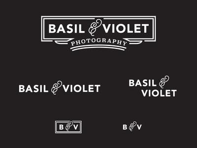 Basil And Violet Logo Variations C