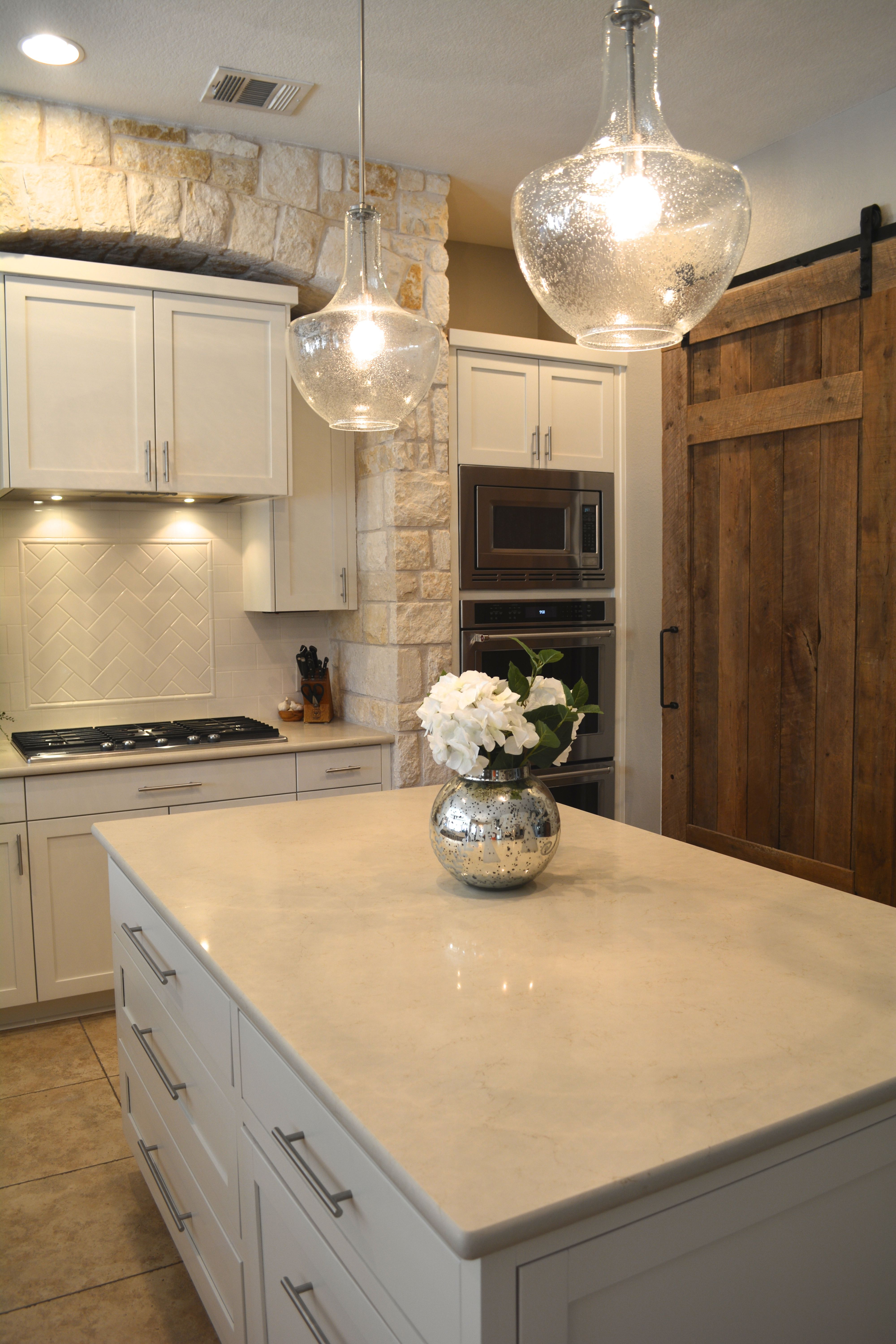 How Much For Marble Countertops We Replaced The Gold Speckled Granite With A Creamy