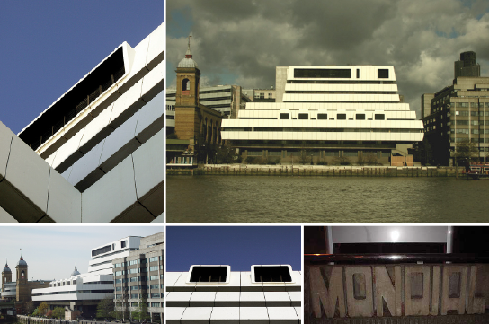 Mondial House 1975 Hubbard, Ford and Partners. Love its originality. Sadly demolished in 2006