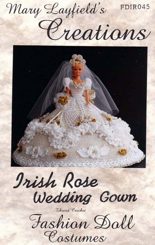 Barbiecrochetballgownpatternsfree Crochet Barbie Doll Wedding