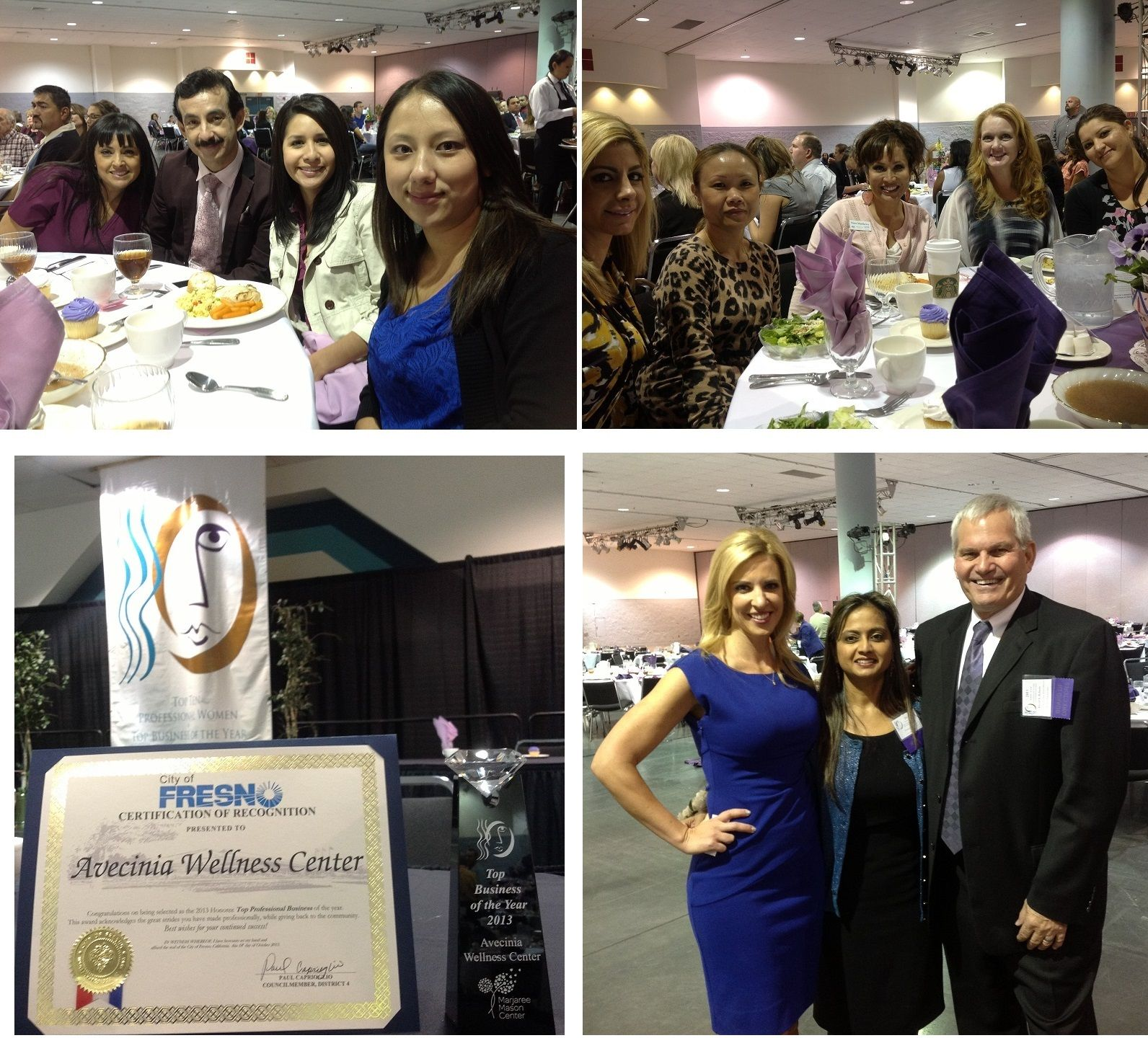 avecinia was recently honored by the Marjaree Mason Center as the 2013 Top Business of the Year for empowering women in the workplace and in the community!  We were honored and humbled to be recognized and look forward to continue growing as a business, innovative healthcare provider and community supporter! Learn more at www.avecinia.com and support the Marjaree Mason Center by visiting www.mmcenter.org