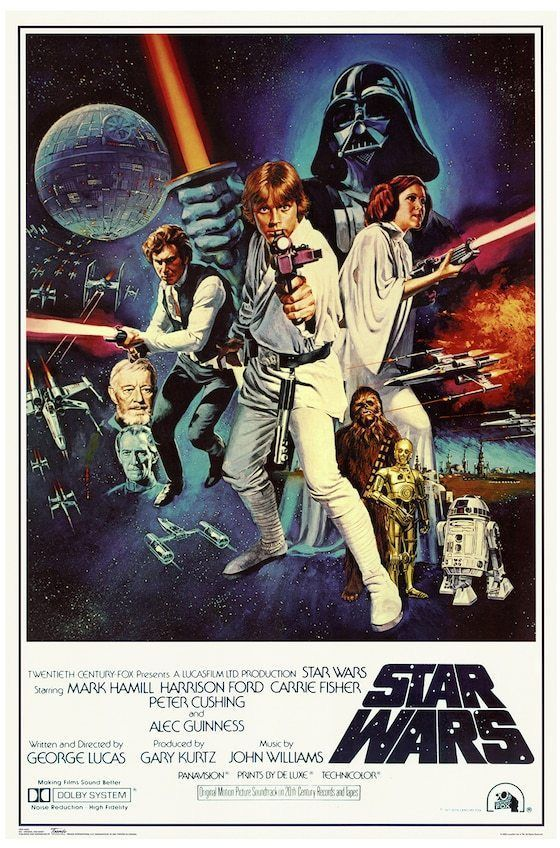 Art.com Star Wars Episode IV New Hope Movie Poster Wall Art ...