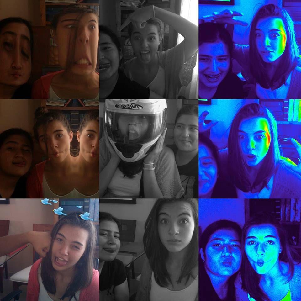 No se, amo la normalidad de mi mejor amiga y yo al tomarnos fotos :'3