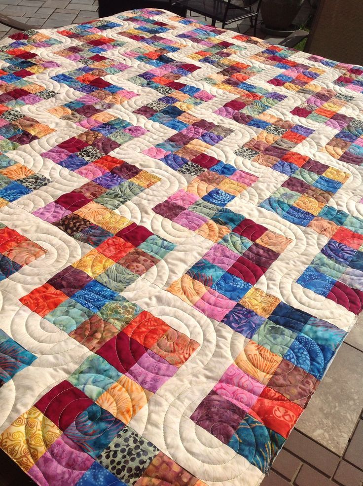 2 patch + 4 patch (Stitchin' Therapy) | Quilting | Quilts ...