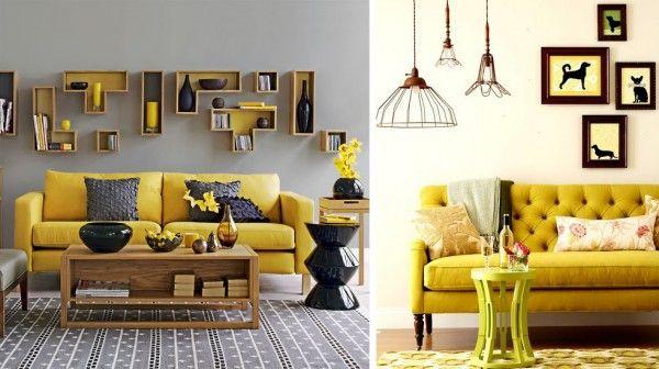 Sillon Mostaza Muebles Amarillos Diseno De Interior Para Apartamento Decoracion De Interiores