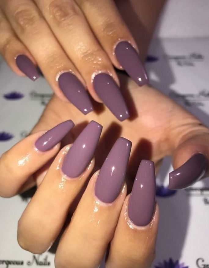 Coffin Acrylic Nails Are Very Trendy Despite Their Name In Fact The Shaped Por Due To Number Of Reasons