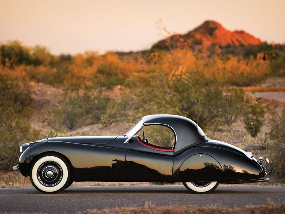 1954 Jaguar XK120 Roadster 5 • TheCoolist - The Modern Design Lifestyle Magazine