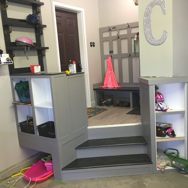 Ryobi Nation Garage Landing Mudroom