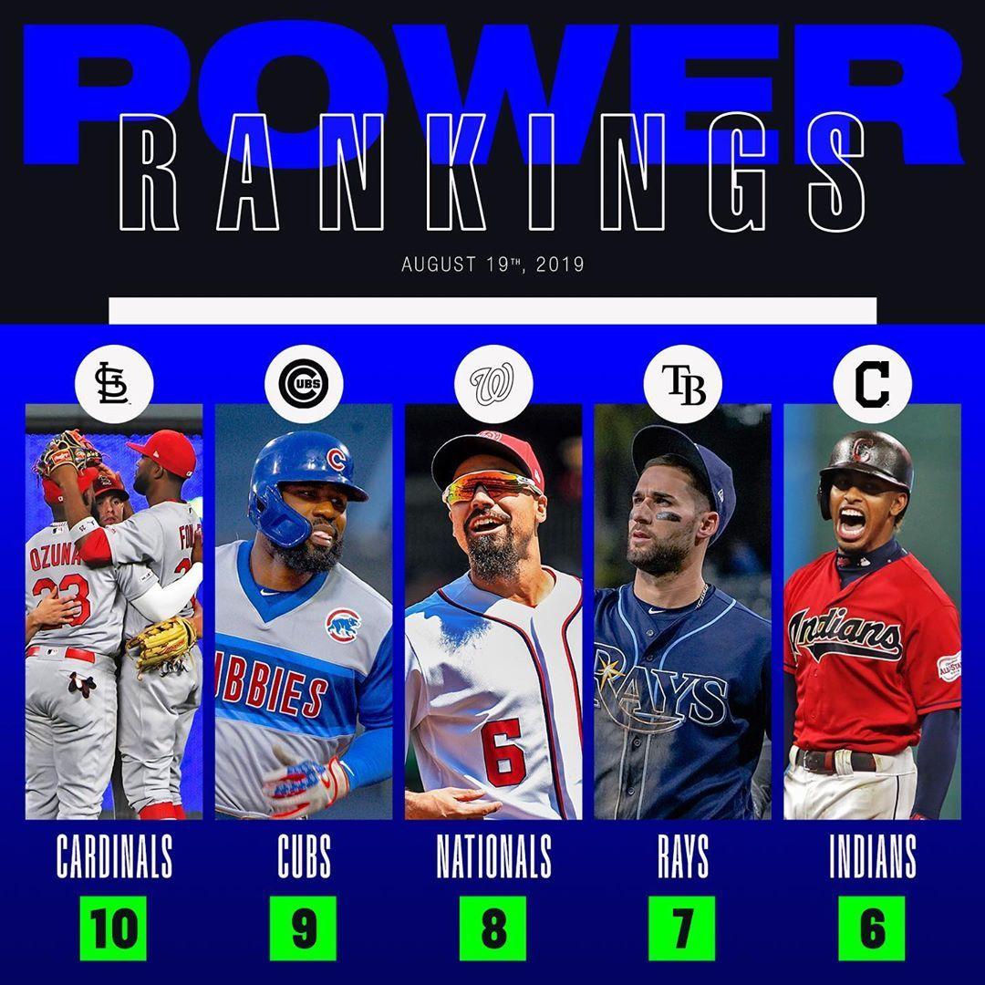 Mlb No One Rankings Should Have All That Power Baseball Big4 Bigfour Big4 Bigfour Big4 Bigfour Majorl Mlb Major League Baseball Power