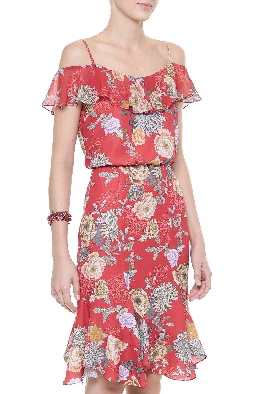 Vestido Crepe Flowers | vestidos social | Pinterest | Vestiditos ...