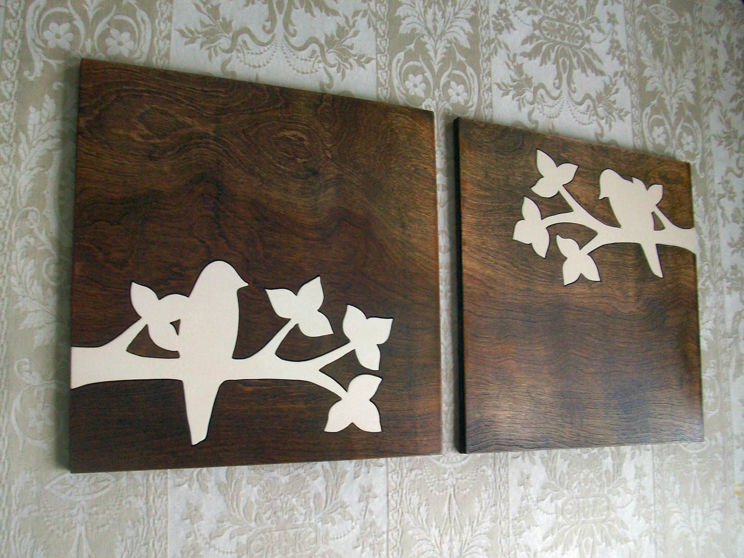 This Beautiful Bird Silhouette Set Is My Original Design The - Diy wall decor birds