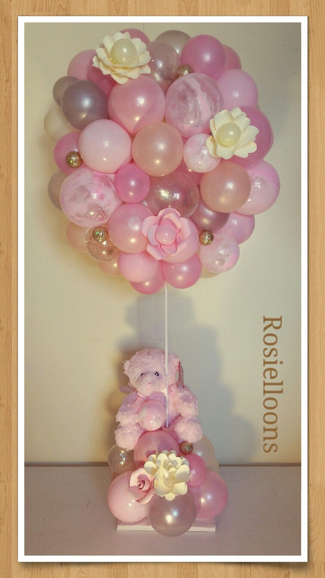 Pin by Rosielloons on baby shower balloons decor