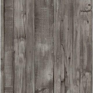 Origin Vlies Tapete Holz Bretter 42104 30 Grau Braun Shabby