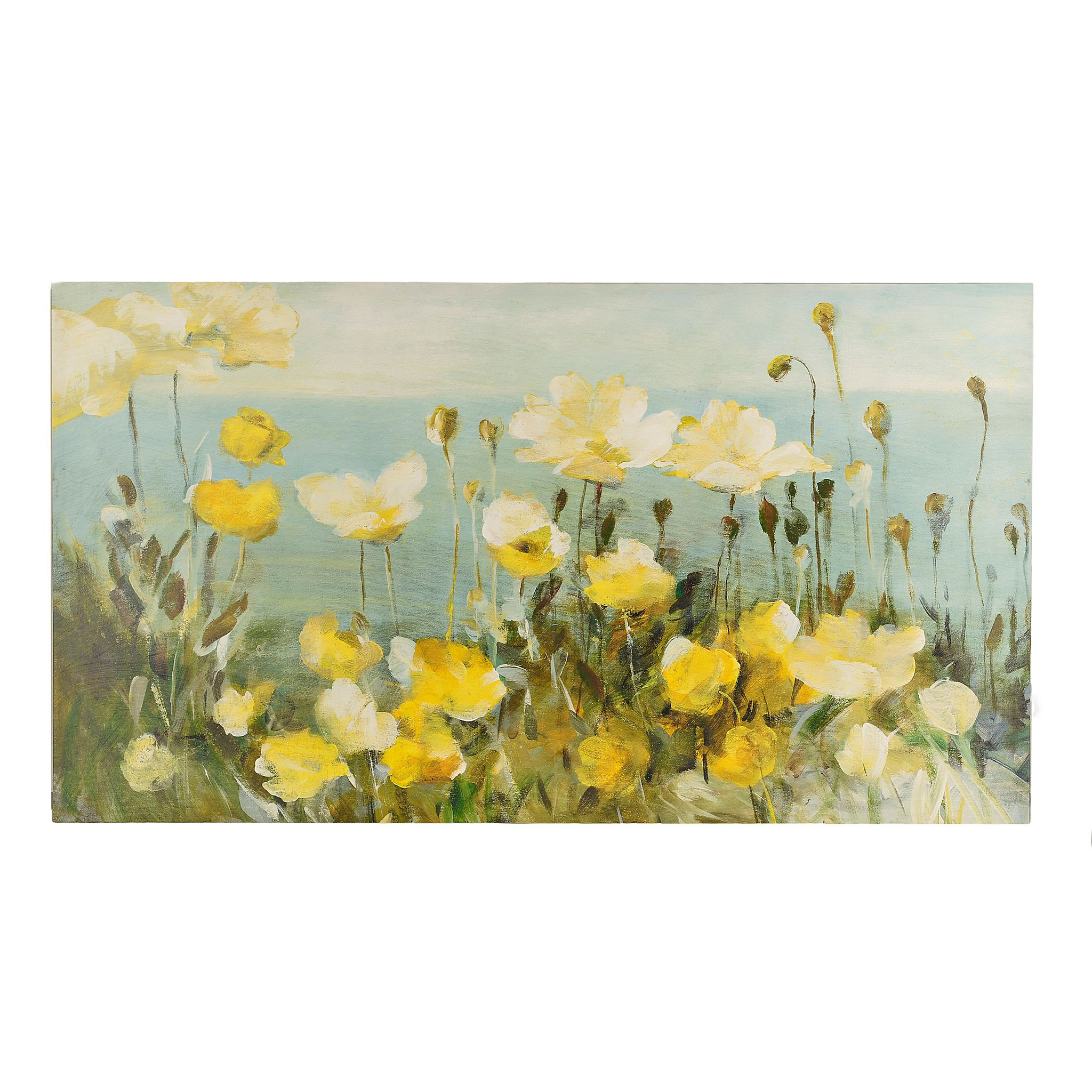 Field of Yellow Canvas Art Print | Fields, Canvases and Walls