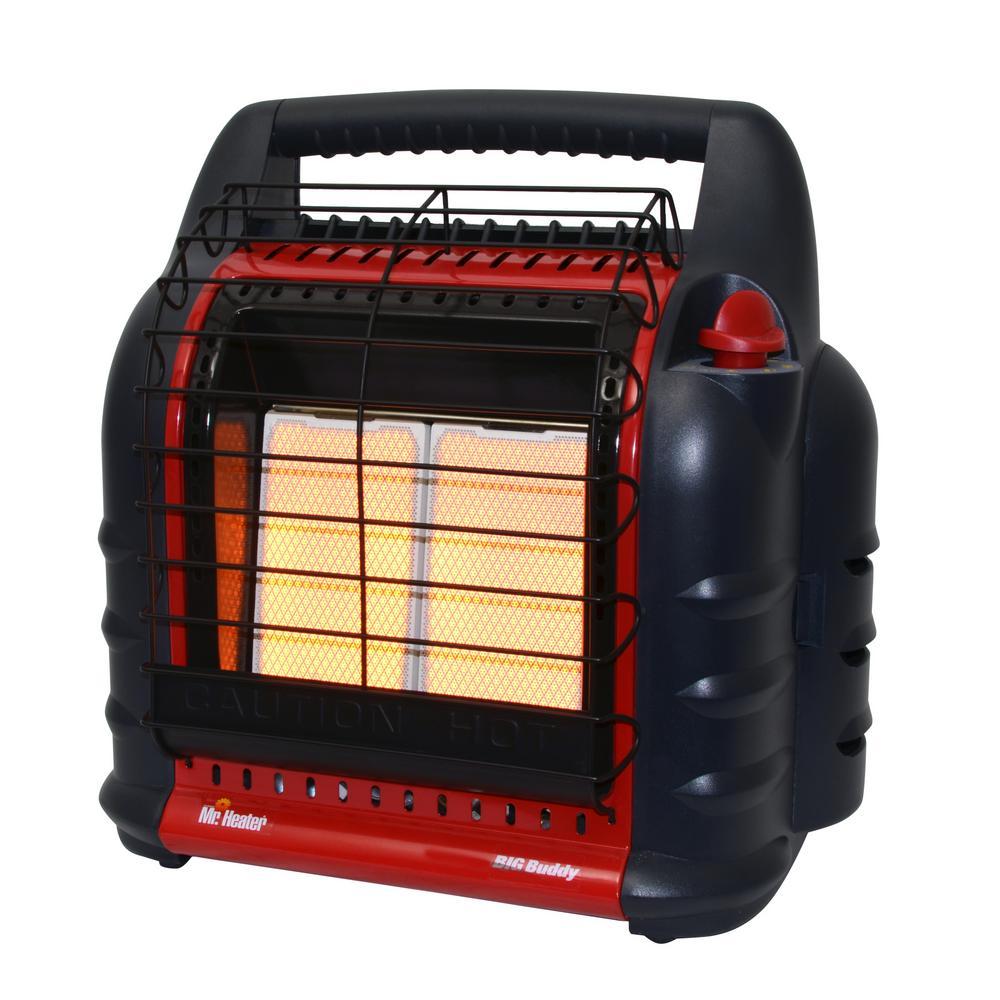 Mr Heater BTU Radiant Propane Big Buddy Portable Heater