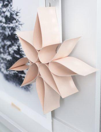 Einfacher Weihnachtsstern aus Papier – Sinnenrausch – Der kreative DIY Blog für Wohnsinnige und Selbermacher