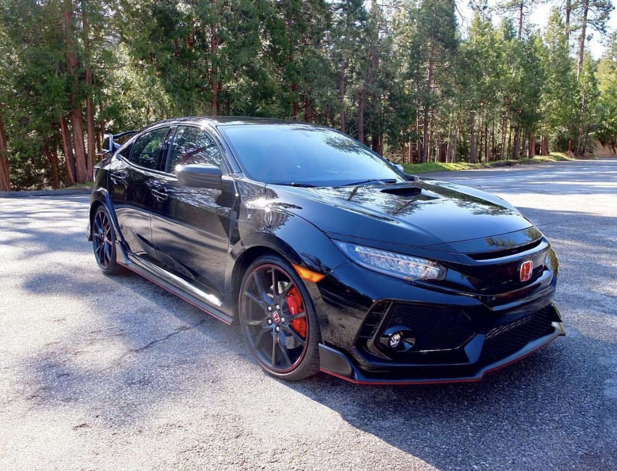 First production Civic Type R seen in the US