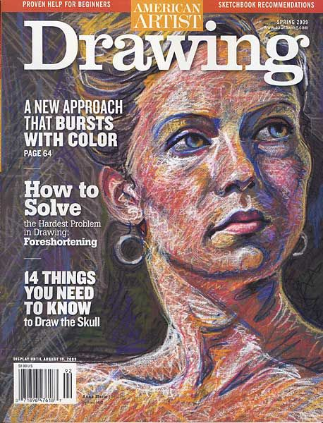 American Artist Drawing - Anna Marie by Fred Hatt (2009)