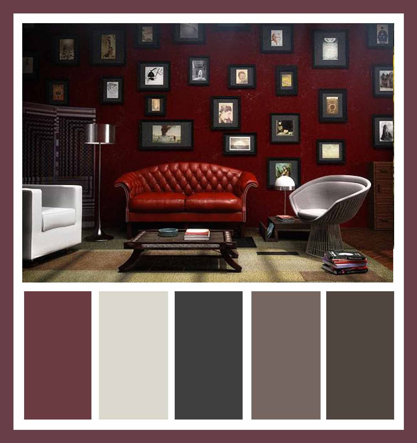 Living room red color combination - Cool Living Room With White And Red Colors Combination Tips Decor Living Room Red Sofa And White Couch In The Oriental Living Room