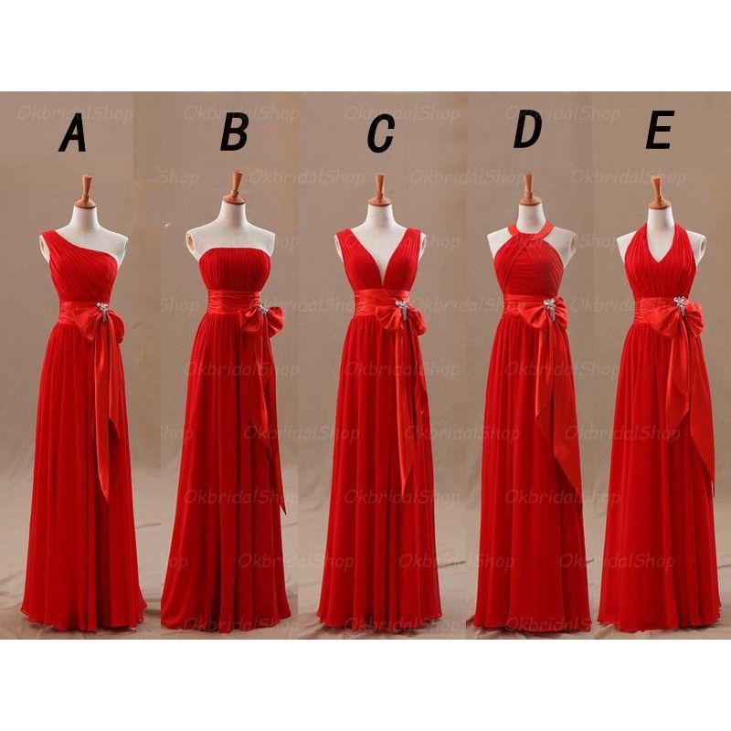 Long Bridesmaid Dress 733a410e1cff
