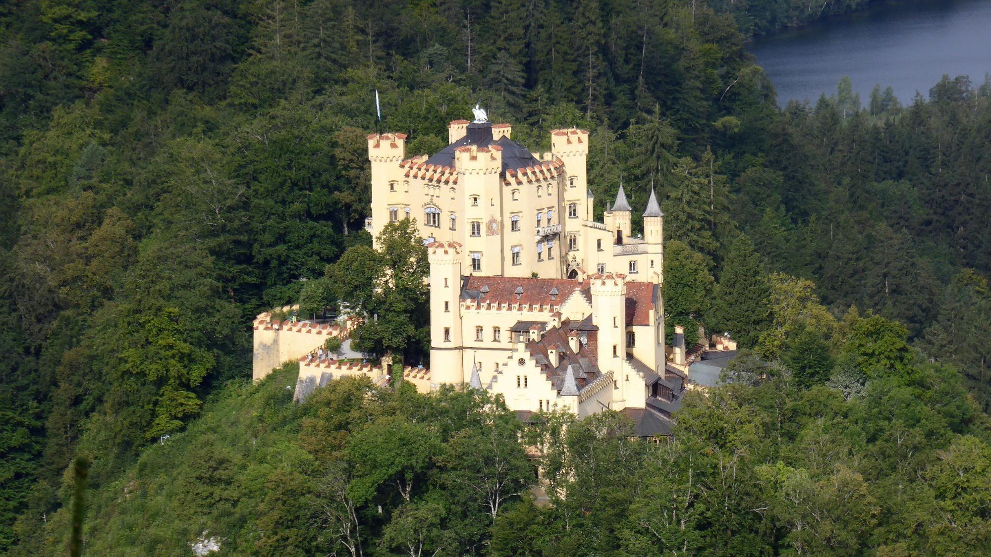Schloss Hohenschwangau Germany Castles Beautiful Castles Neuschwanstein Castle