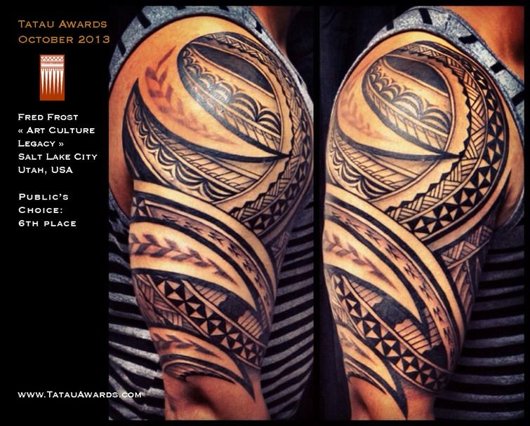 Fred Frost Tattoo Designs Fred Frost Salt Lake City Utah Usa Polynesian Tattoo Awards