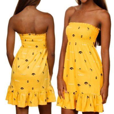 iowa hawkeye dress