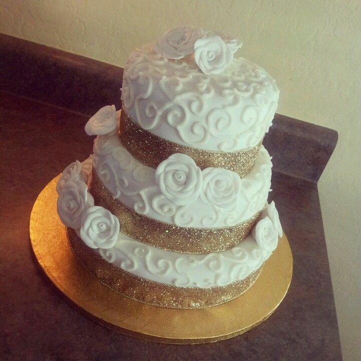 50th Anniversary Cakes, Cake