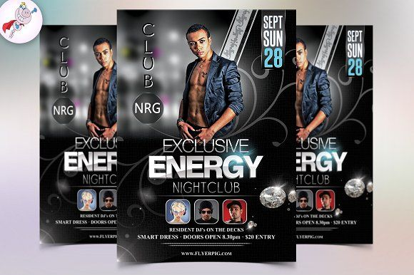 Nightclub Flyer Template Flyer Template And Template
