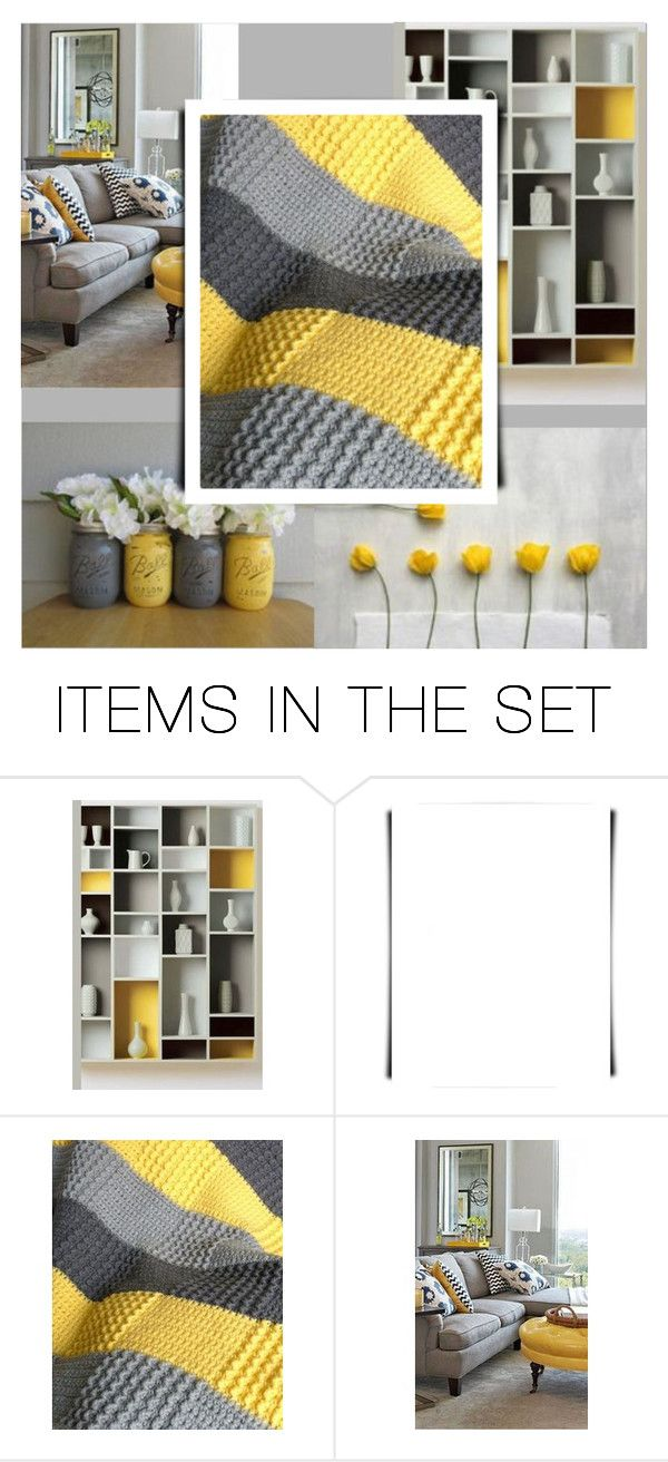 """Grey & Yellow contest"" by art-gives-me-life ❤ liked on Polyvore featuring art"