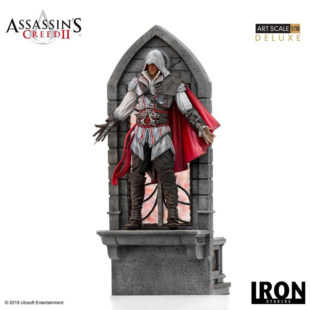 Assassin's Creed 2 Deluxe Ezio Auditore 110 Scale Statue