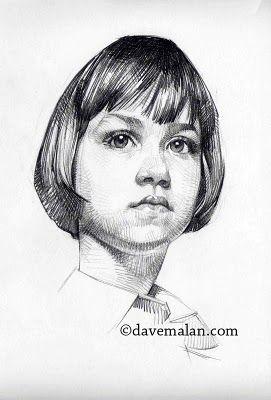 Gimme More Bananas David Malan Portrait Sketches Drawings