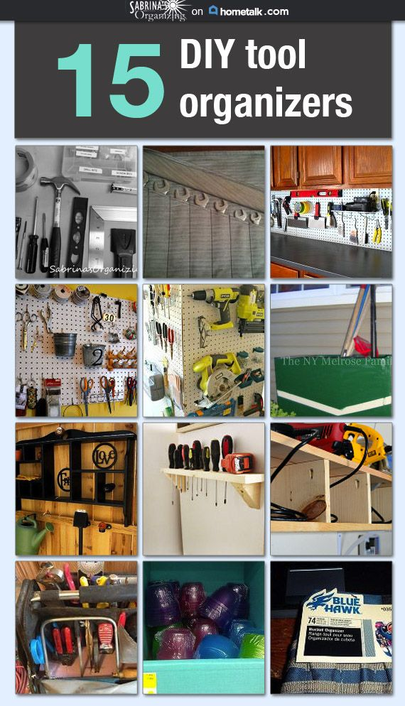 Great Ideas For Keeping Your Expensive Tools Organized And Within Reach Tool Organization Home Tool Kits Home Tools