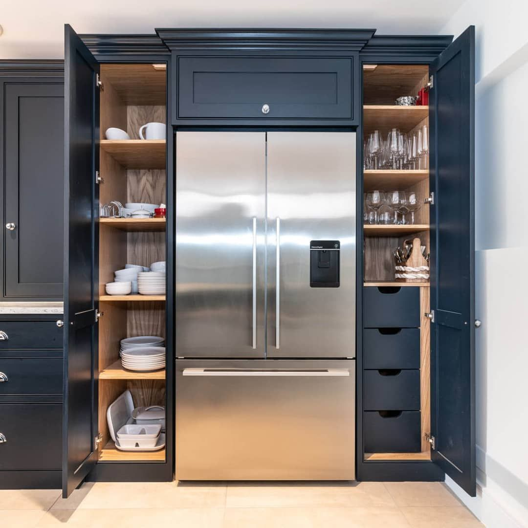 This Truly Bespoke Furniture From Our Kitchen Project In Hutton Brentwood Is Absolutely Stunning In Kitchen Design Gallery Sage Kitchen Kitchen Design Trends