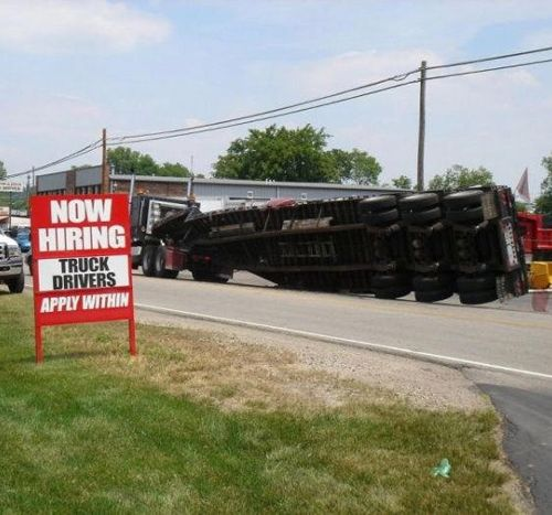 Funny Pictures Weird Wacky Chucklers Weird People Awkward - 22 hilarious truck signs spotted on the road