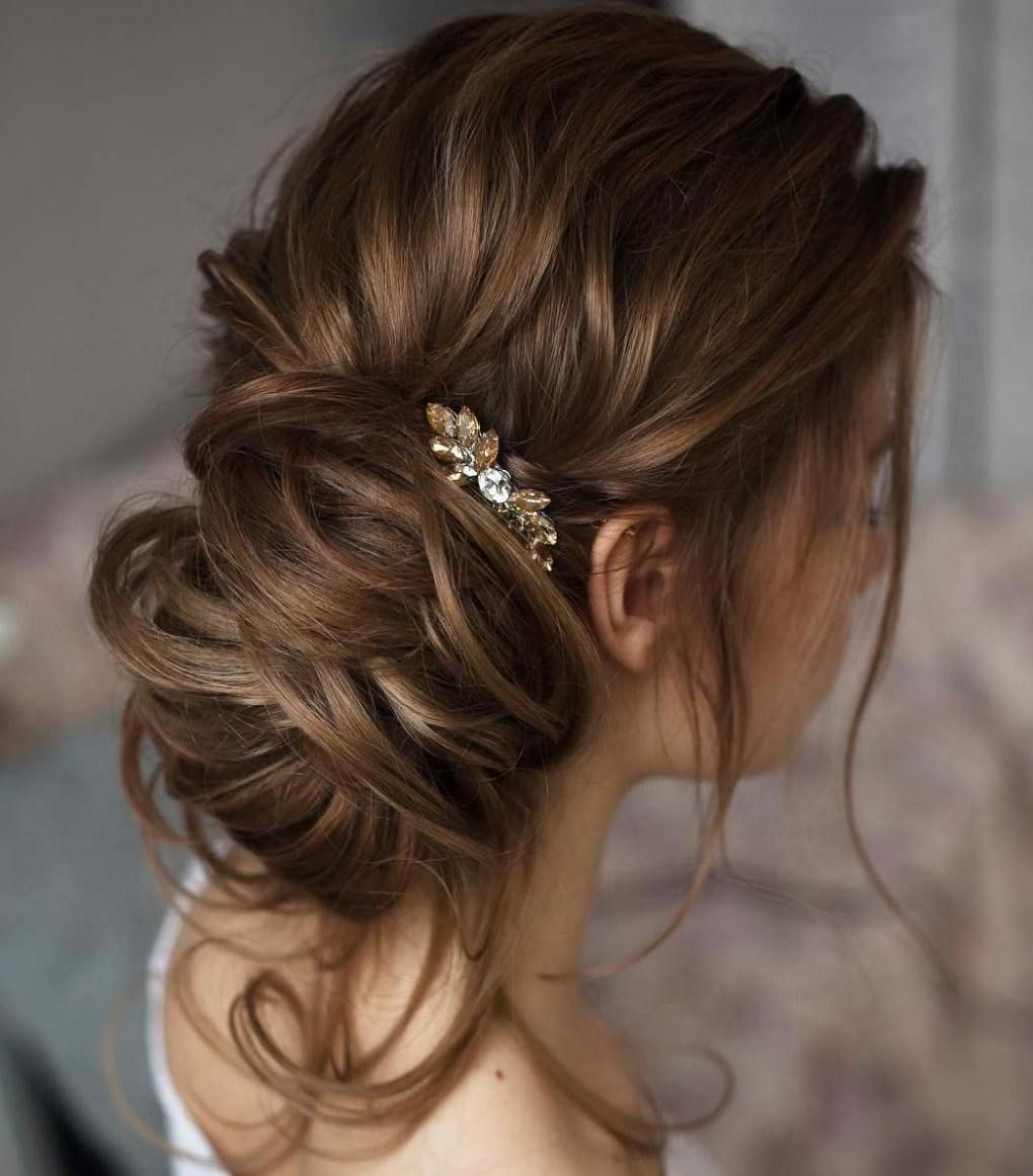 40 Casual And Formal Side Bun Hairstyles For 2020 Hair Styles Side Bun Hairstyles Long Hair Styles