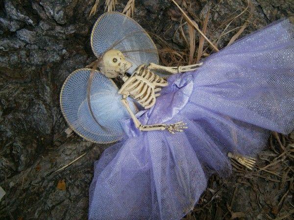 dead fairy prop for Halloween