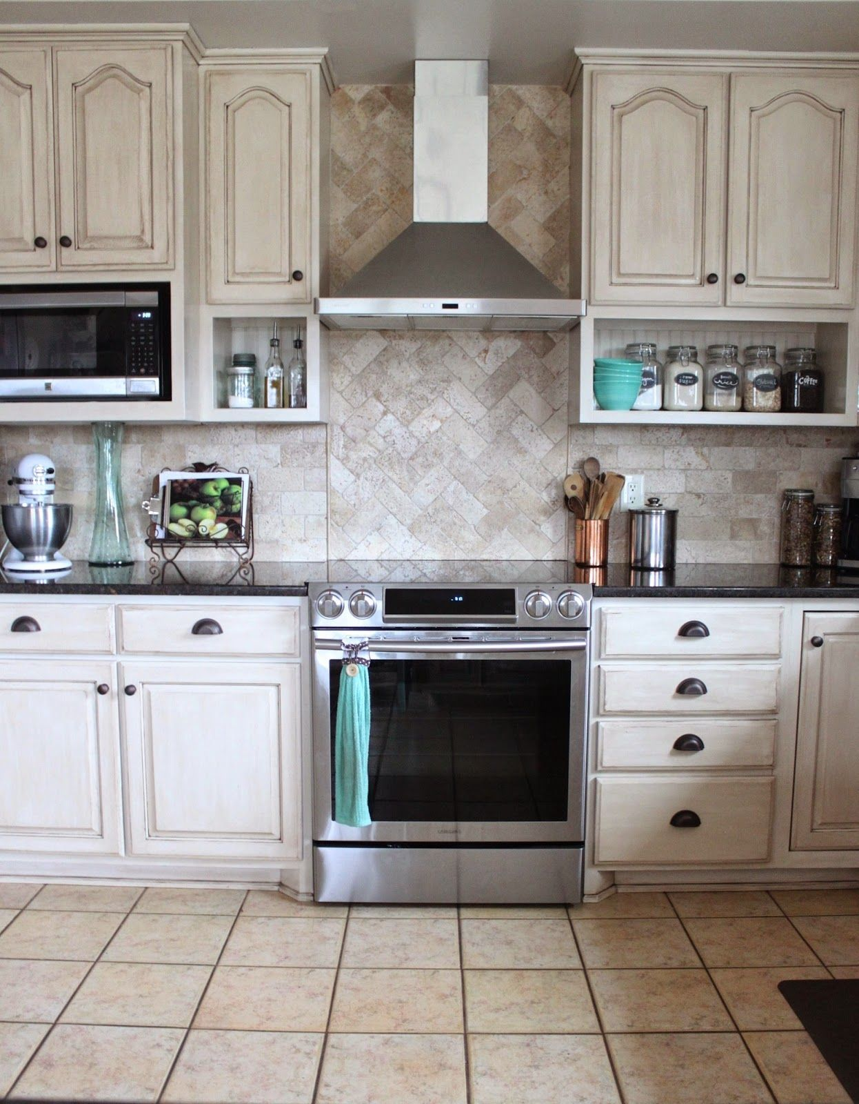 Painted Kitchen And Remodel Reveal Kitchen Cabinets To Ceiling Kitchen Design Decor New Kitchen Cabinets