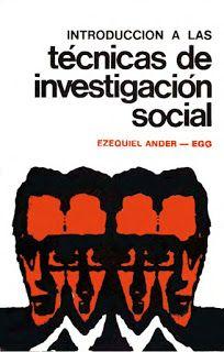 introducción a las técnicas de investigación social pdf gratis
