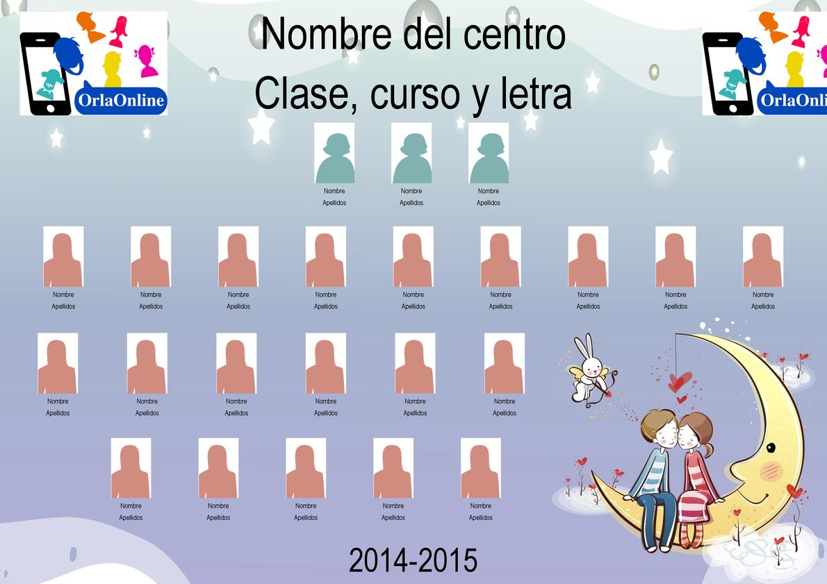 OrlaOnline | Plantilla de orlas para primaria e infantil Amistad en ...