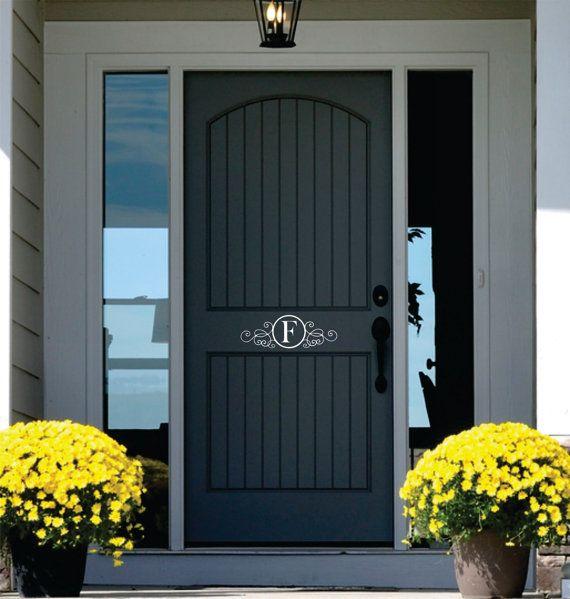 45+ Personalized home decor door ideas