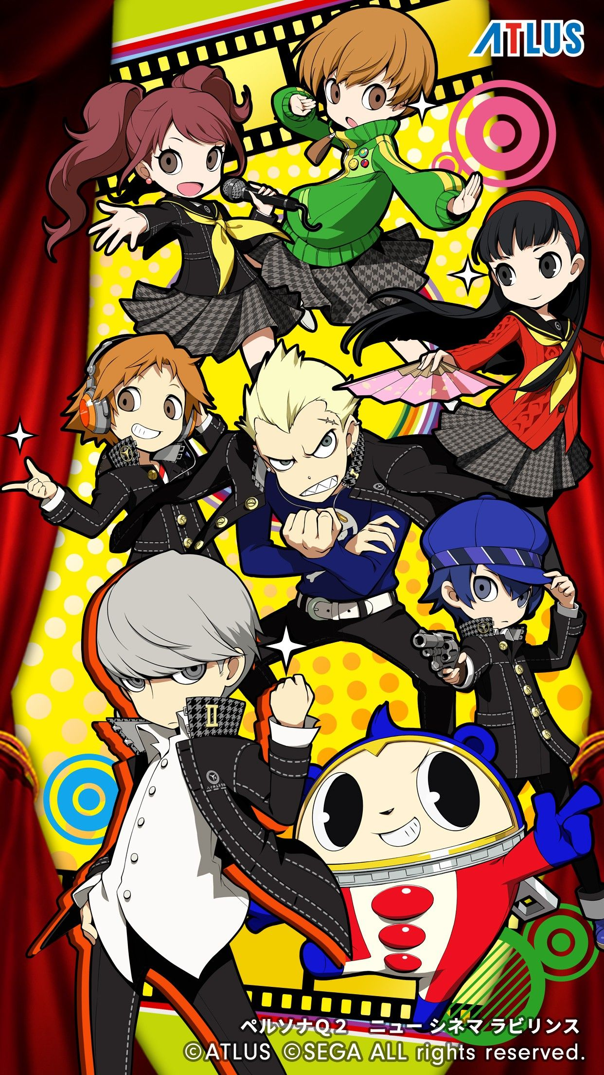 Persona Q2 New Cinema Labryinth Persona 4 キャラクターデザイン