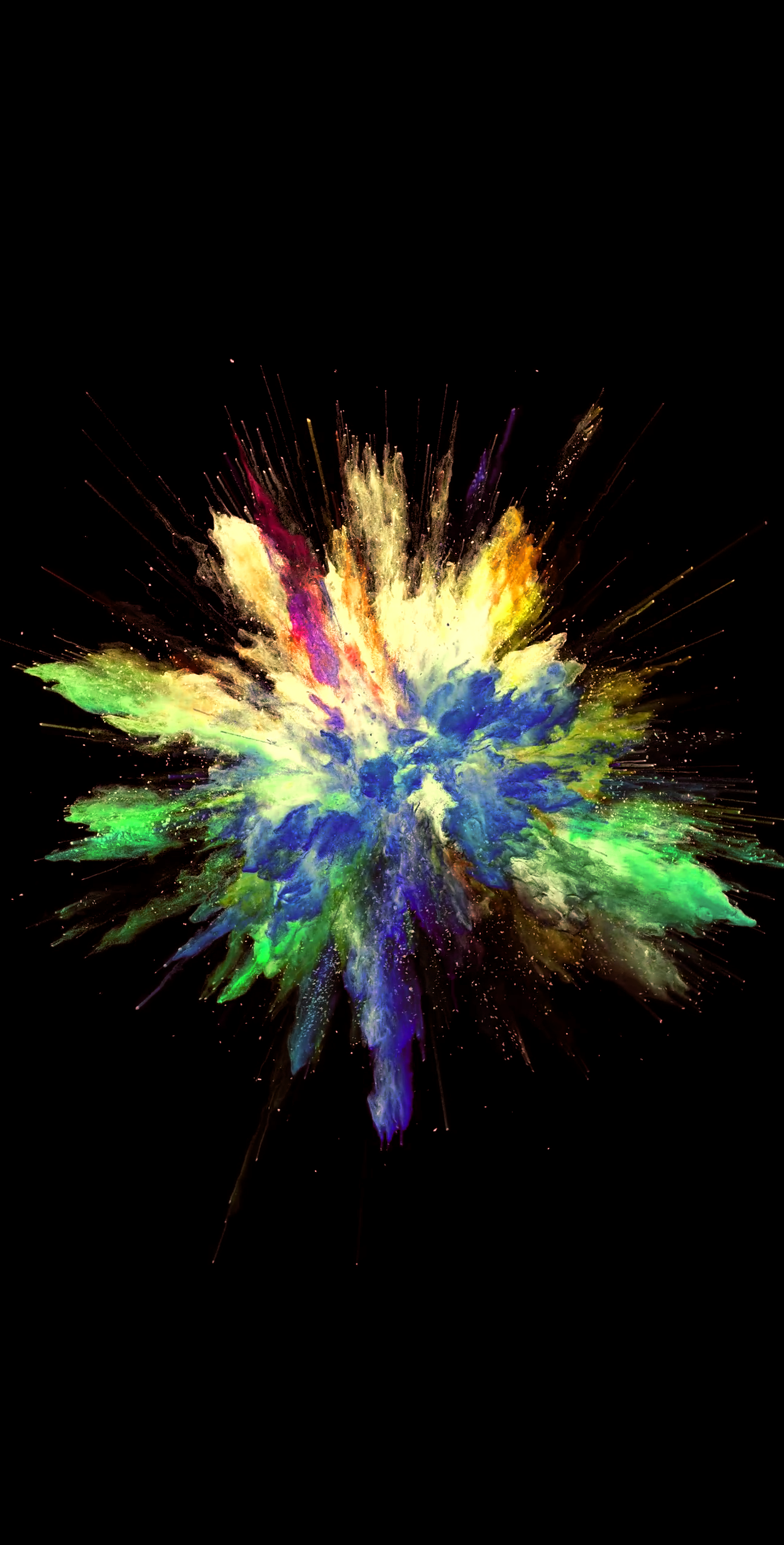 Colorful explosion 1300x2560 video live wallpaper in - Explosion wallpaper ...