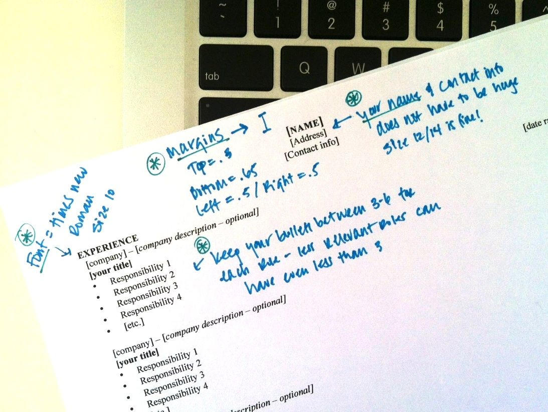 fit your resume on one page here s how http www prepary com 6