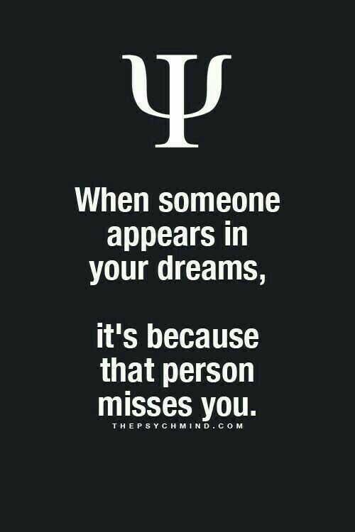 when someone dreams about you