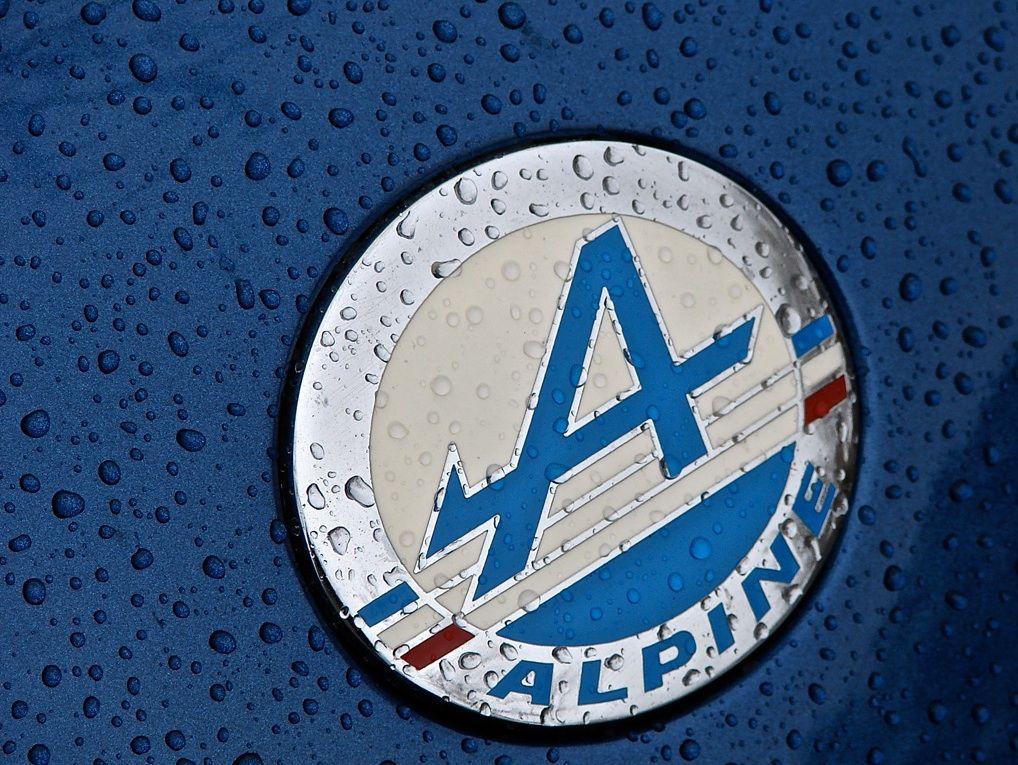 Logo La Plaque Publicitaire Renault Alpine